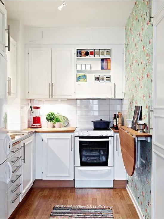 Идеи для маленькой кухни: советы по оформлению, фото5