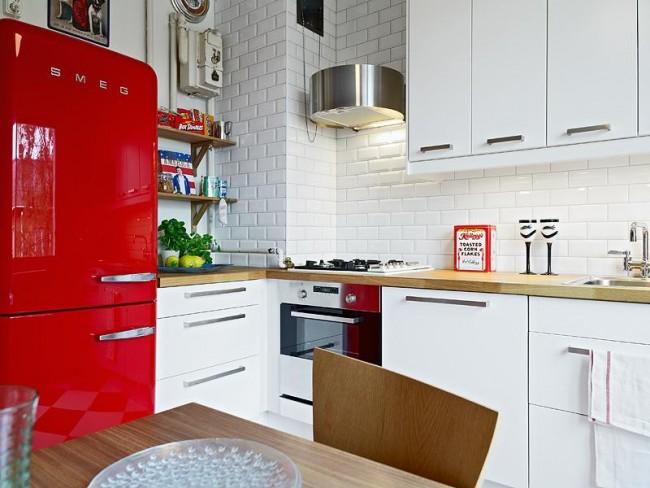 Идеи для маленькой кухни: советы по оформлению, фото6