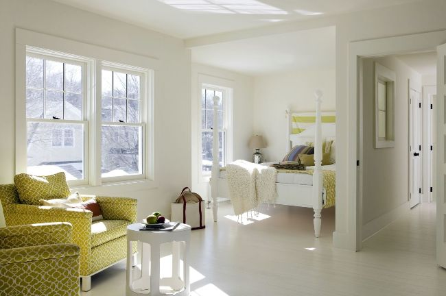 Интерьер комнаты с нишей1