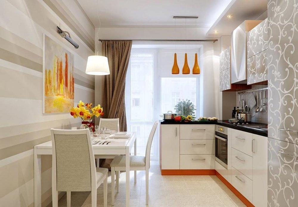 Интерьер кухни 12 кв м. кухня в японском стиле4
