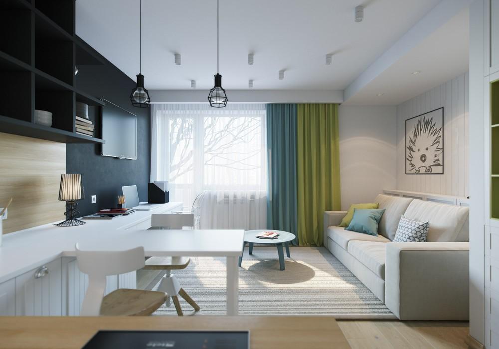 Интерьер маленькой квартиры3