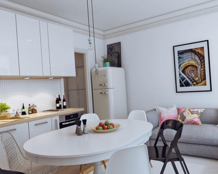 Интерьер маленькой квартиры4