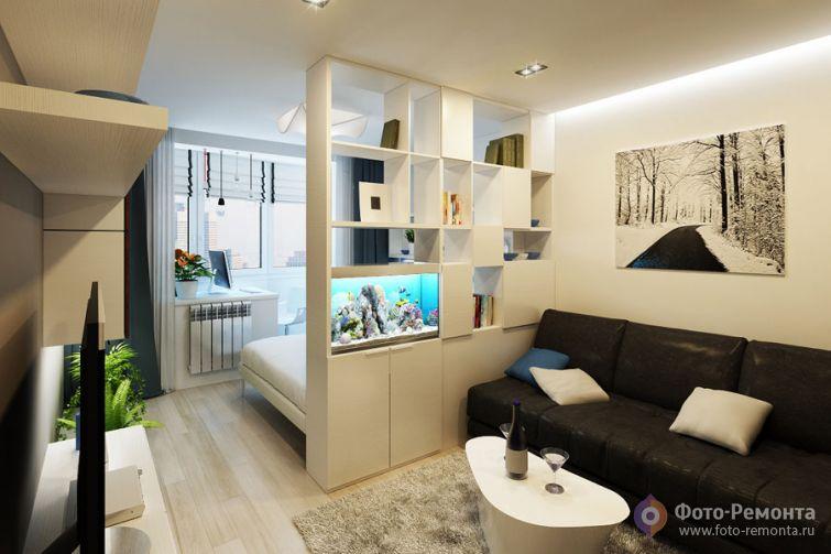 Интерьер маленькой квартиры6