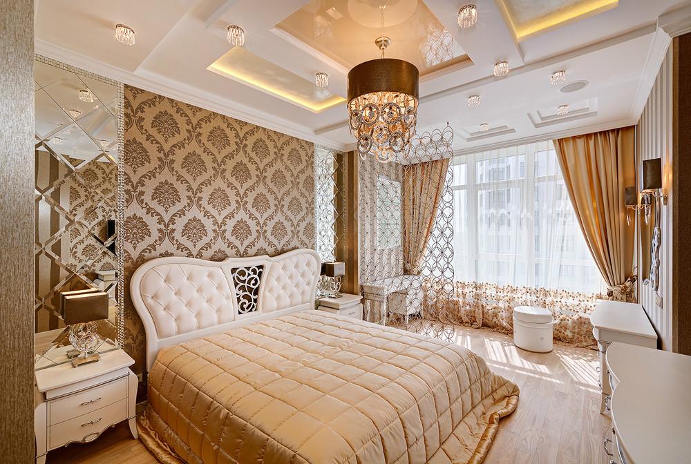 Интерьер спальни в классическом стиле: цвет, свет, дизайн (фото)2