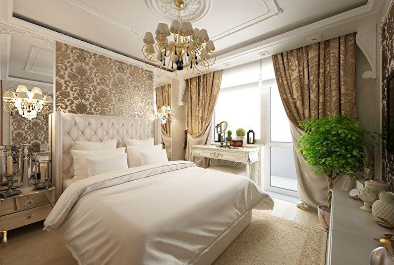 Интерьер спальни в классическом стиле: цвет, свет, дизайн (фото)4