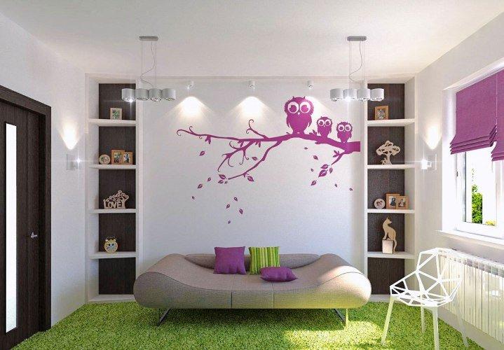 Интересные идеи декора стен своими руками: практические советы2