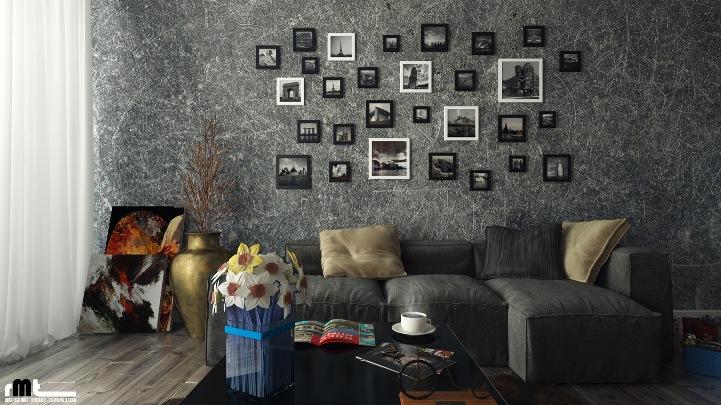 Интересные идеи декора стен своими руками: практические советы4
