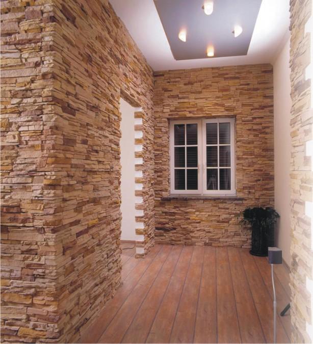 Искусственный и натуральный камень облицовочный в интерьере2