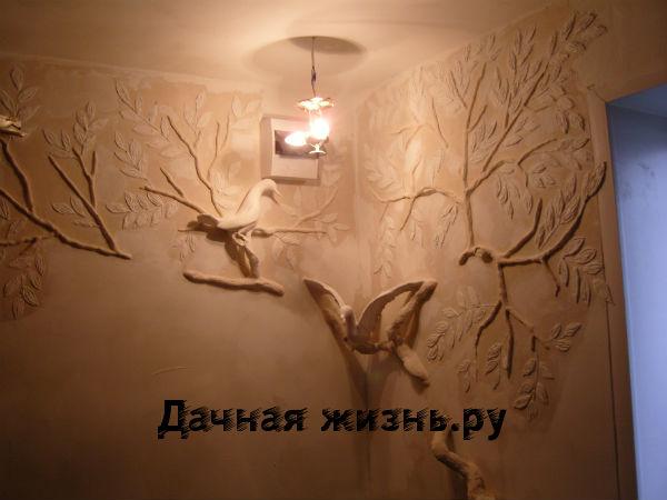 Изготовление лепнины на стену своими руками4