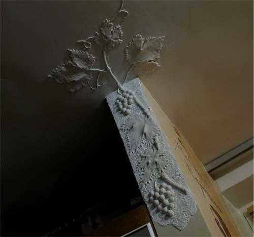 Изготовление лепнины на стену своими руками5