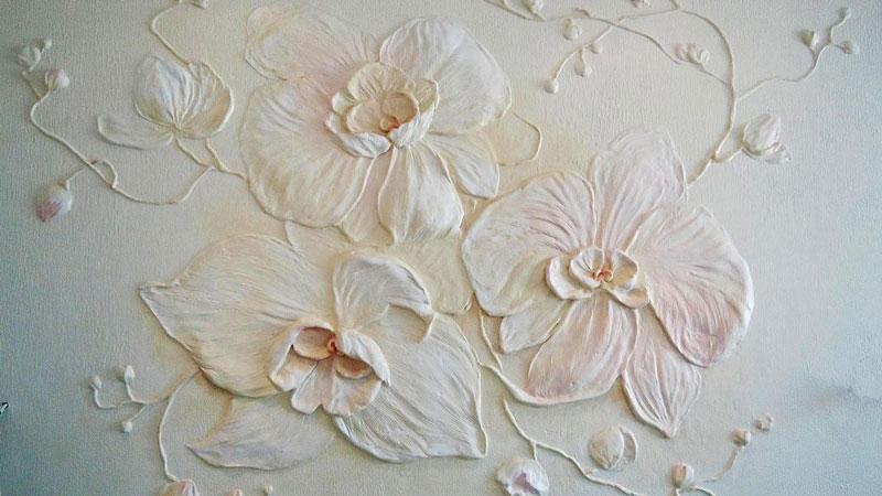 Изготовление лепнины на стену своими руками6