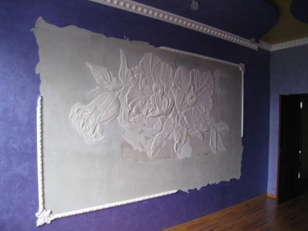 Изготовление лепнины на стену своими руками7