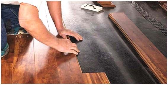 Качественная укладка ламината своими руками на фанеру5
