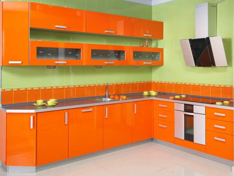 Как и каким цветом покрасить кухню3