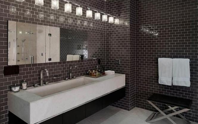 Как использовать в ванной комнате жидкие обои7