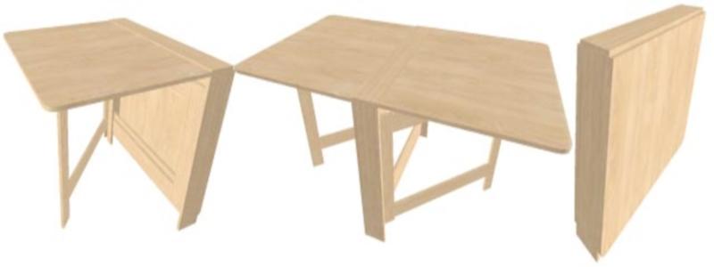 Как изготовить раскладной стол своими руками2