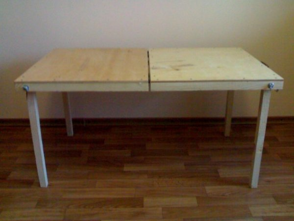 Как изготовить раскладной стол своими руками3