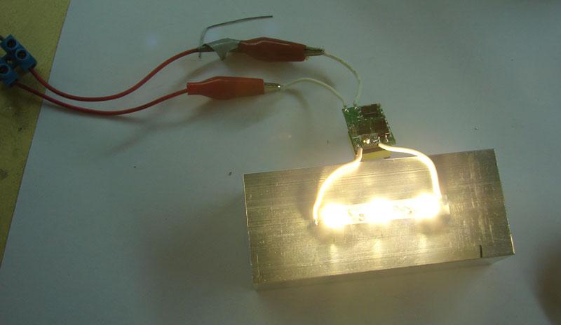 Как изготовить светодиодный светильник своими руками6