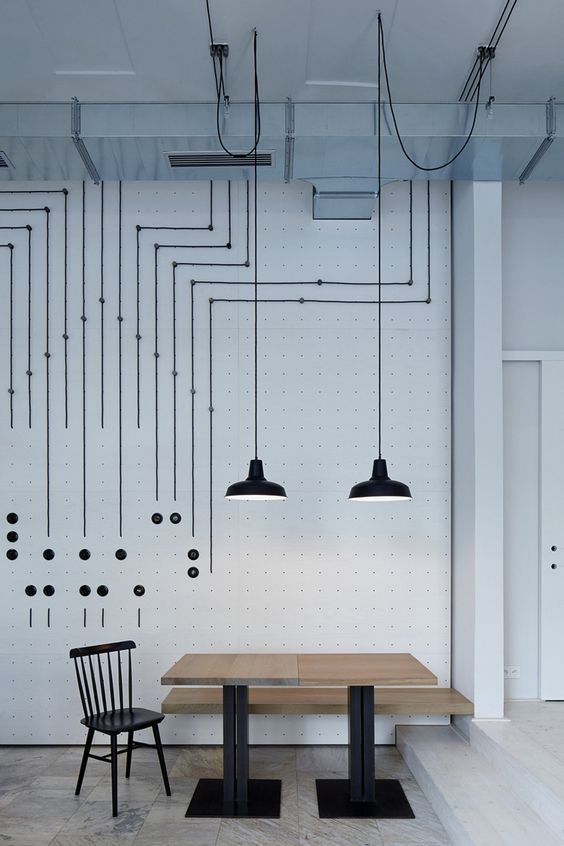 Как красиво и оригинально оформить провода в интерьере4