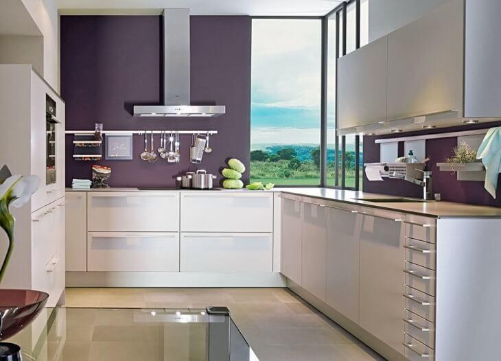 Как лучше оформить рабочую зону на кухне1