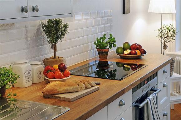 Как лучше оформить рабочую зону на кухне2