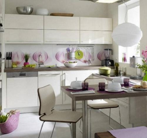 Как лучше оформить рабочую зону на кухне3