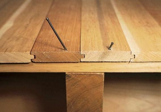 Как можно избавиться от скрипа деревянного пола?3