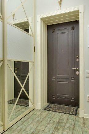 Как можно оформить дверной проем входной двери3