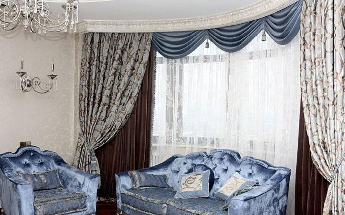 Как не ошибиться при выборе штор для зала: советуют дизайнеры1