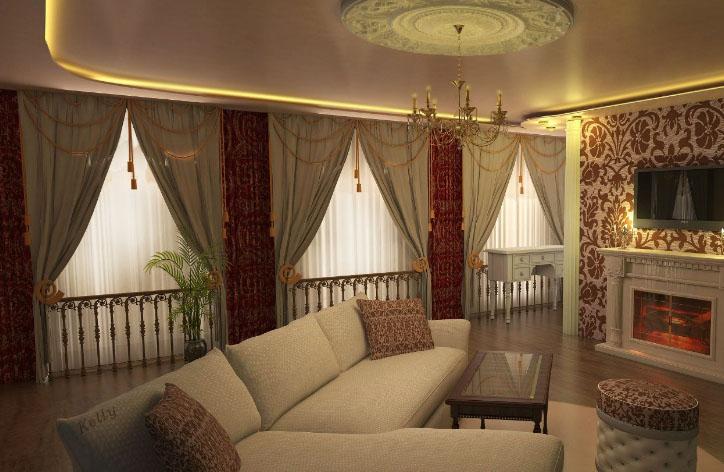 Как не ошибиться при выборе штор для зала: советуют дизайнеры2