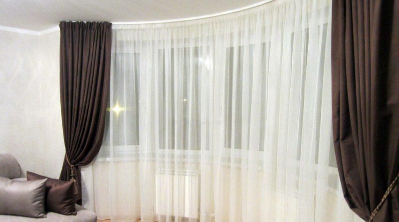 Как не ошибиться при выборе штор для зала: советуют дизайнеры0
