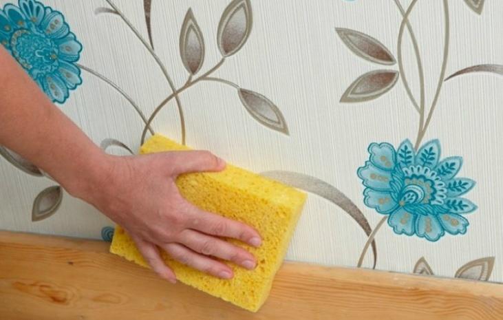 Как очистить обои от грязи: инструкция2