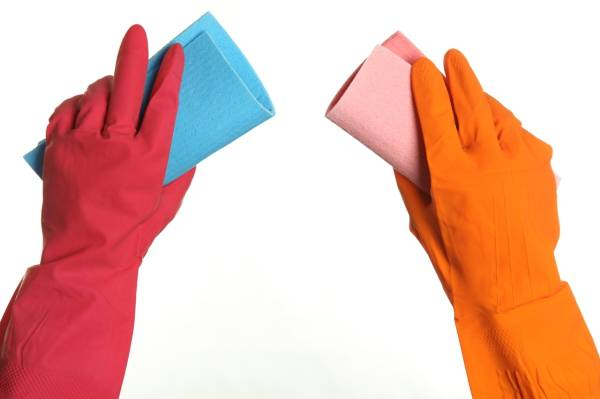 Как очистить обои от грязи: инструкция3