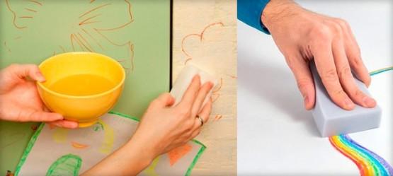 Как очистить обои от грязи: инструкция4