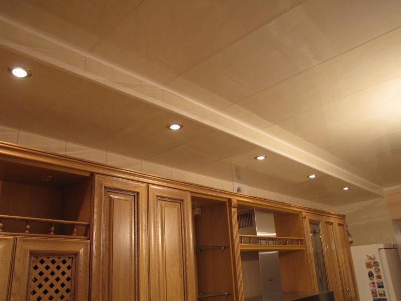 Как оформить потолок на кухне своими руками?2