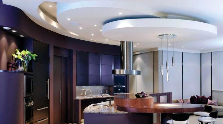 Как оформить потолок на кухне своими руками?4
