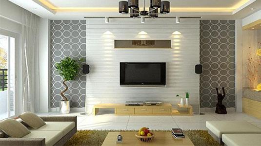 Как оформить стены в гостиной?0