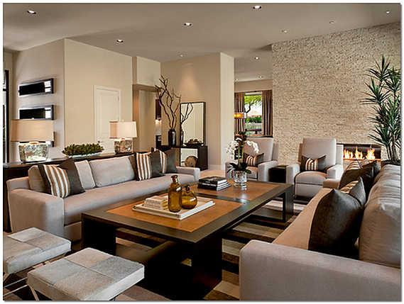Как оформить стены в гостиной?3