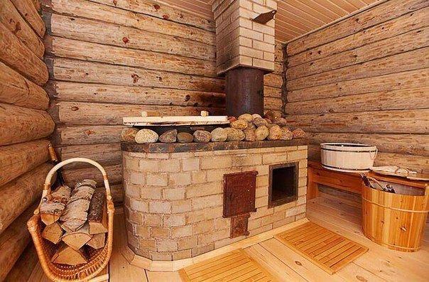 Как отопить баню дровами?1