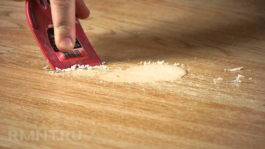Как отремонтировать ламинат своими руками3