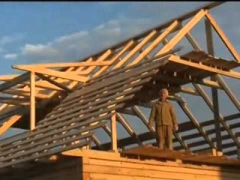 Как построить крышу? крыша в доме из бруса2