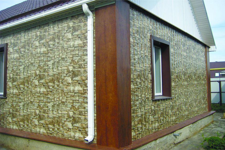 Как правильно рассчитать материал и обшить дом профлистом2