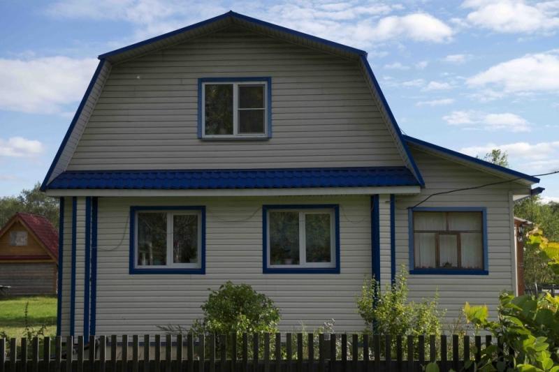 Как правильно рассчитать материал и обшить дом профлистом3