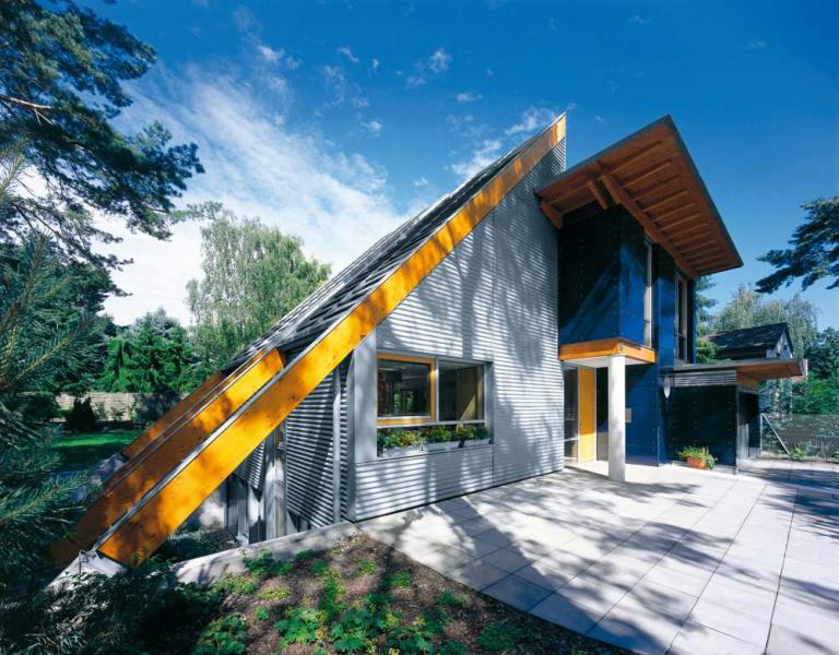 Как правильно рассчитать материал и обшить дом профлистом6