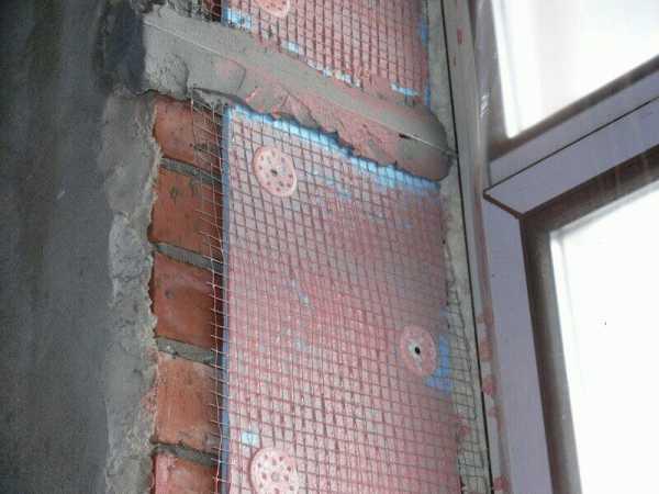 Как правильно утеплить откосы пластиковых окон4
