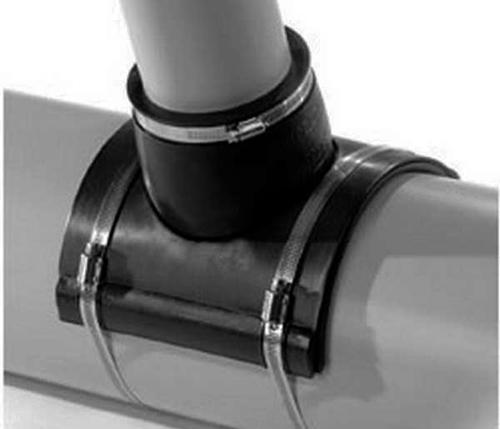 Как правильно врезаться в канализационную трубу?1