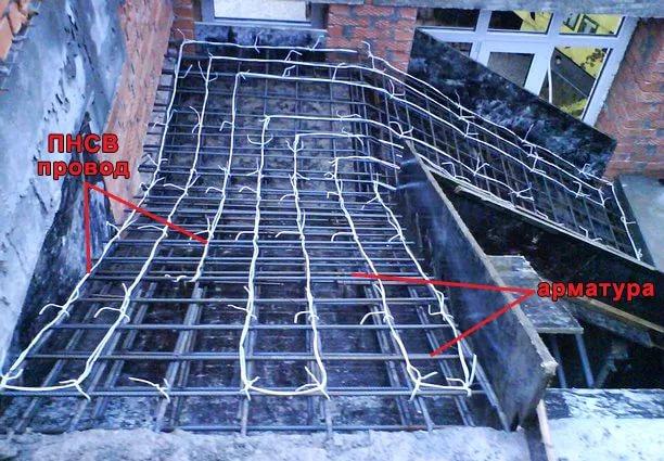 Как прогреть бетон зимой?1