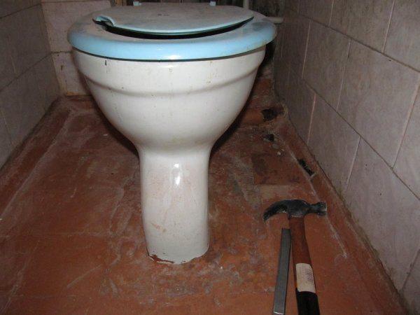 Как произвести демонтаж унитаза?4