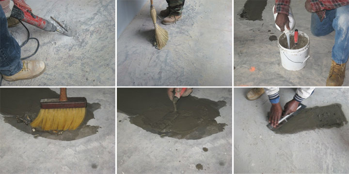 Как произвести ремонт бетонного пола своими руками?3