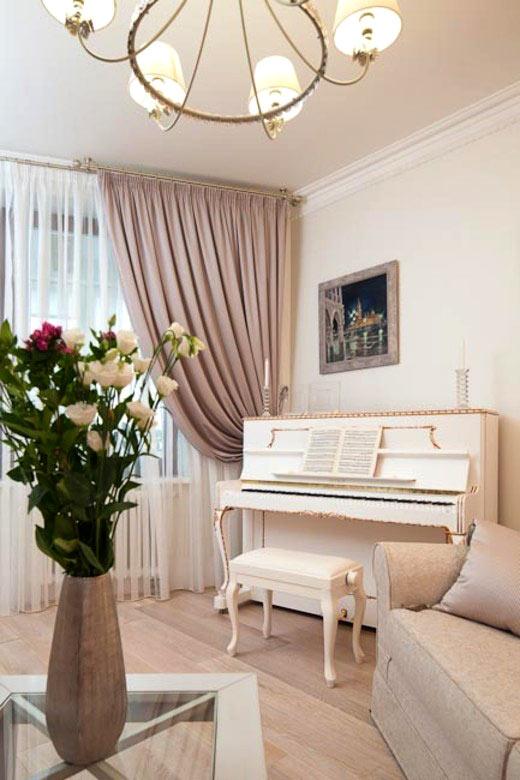 Как разместить пианино в интерьере вашего дома0
